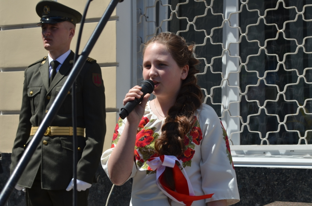ВЖитомире открыли памятную доску Качиньскому