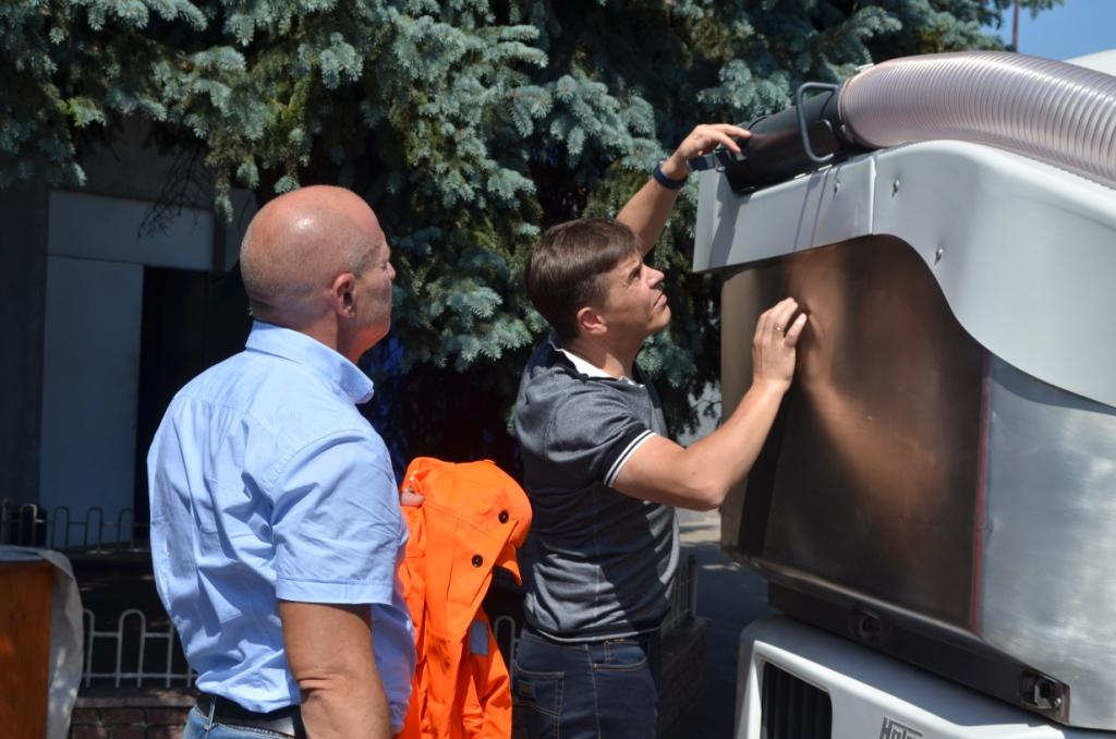 Житомир купил новую технику для уборки улиц и дорог