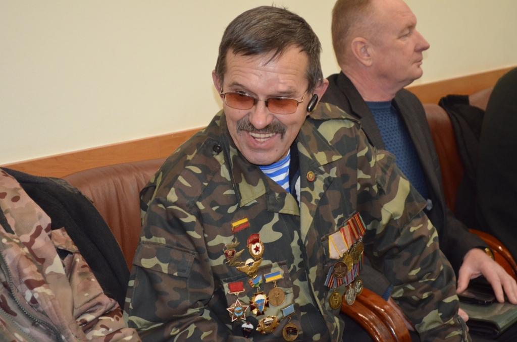 Сергій Сухомлин: «Ми маємо пам'ятати про воїнів афганців, щоб потім не забути воїнів АТО»