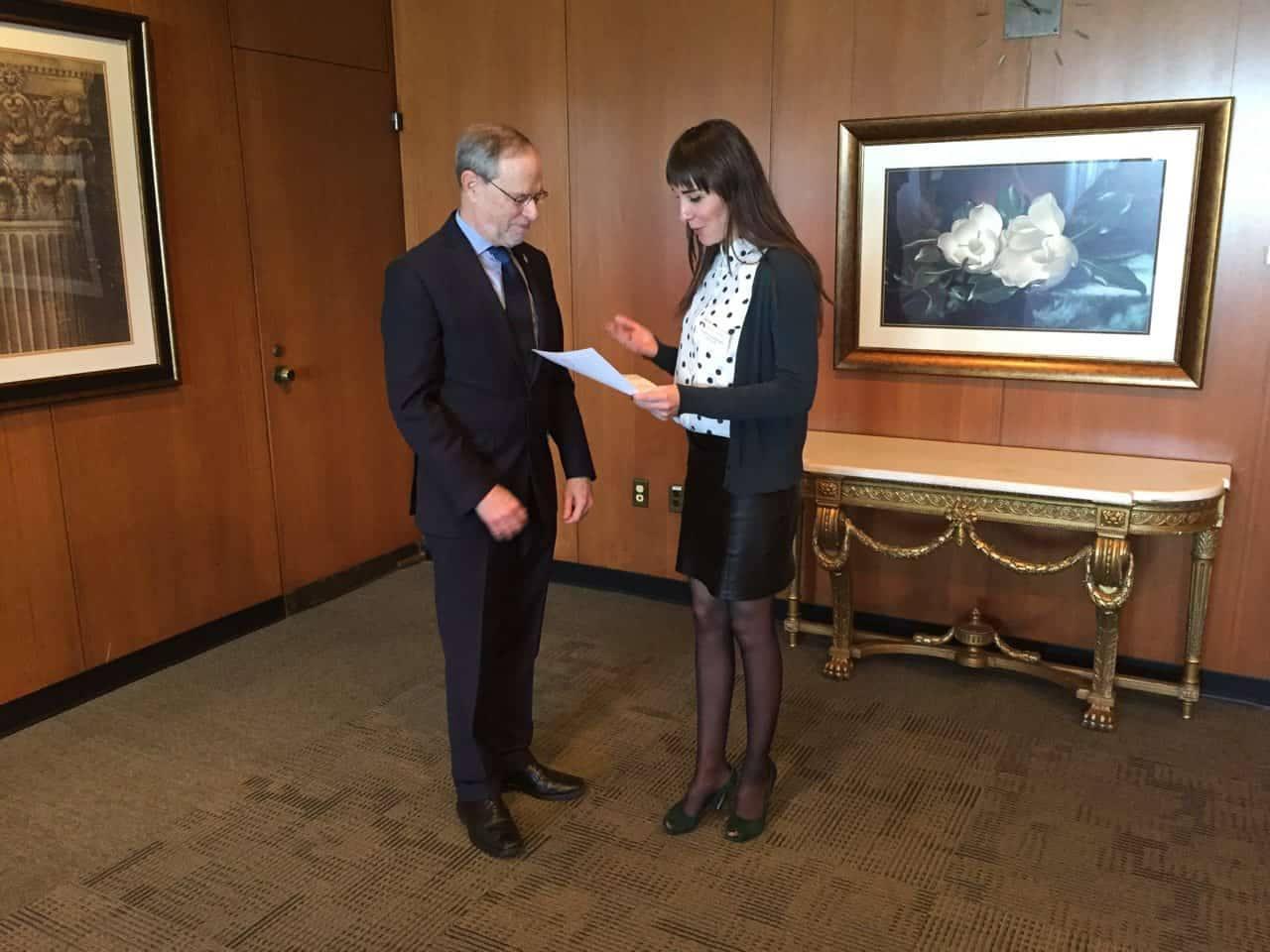 Депутат Ірина Ярмоленко взяла участь у програмі «Відкритий світ» від Конгресу США