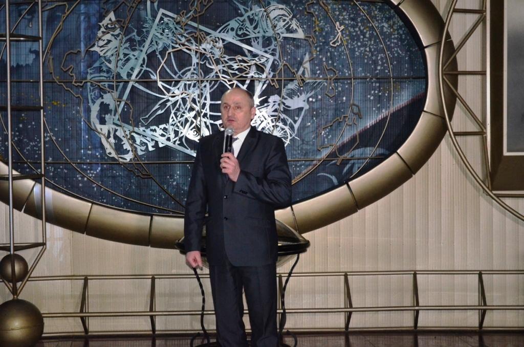 Вечір пам'яті  Леоніда Каденюка відбувся у музеї космонавтики  імені С.П.Корольова