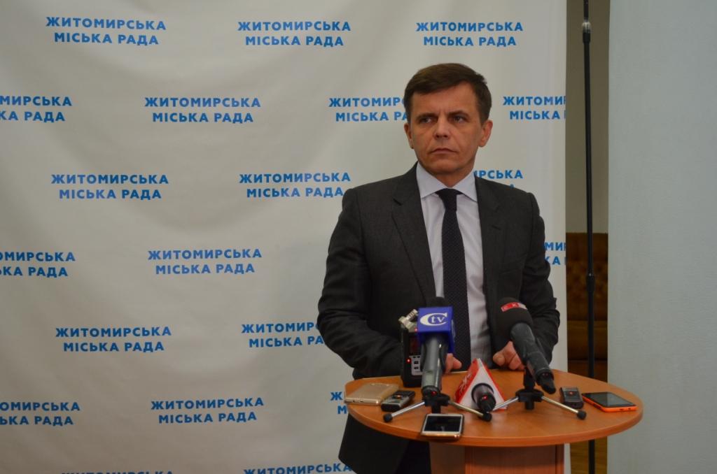 Заміна старої колії з новими трамваями для Житомира обійшлася б у 30 мільйонів євро, – Сергій Сухомлин
