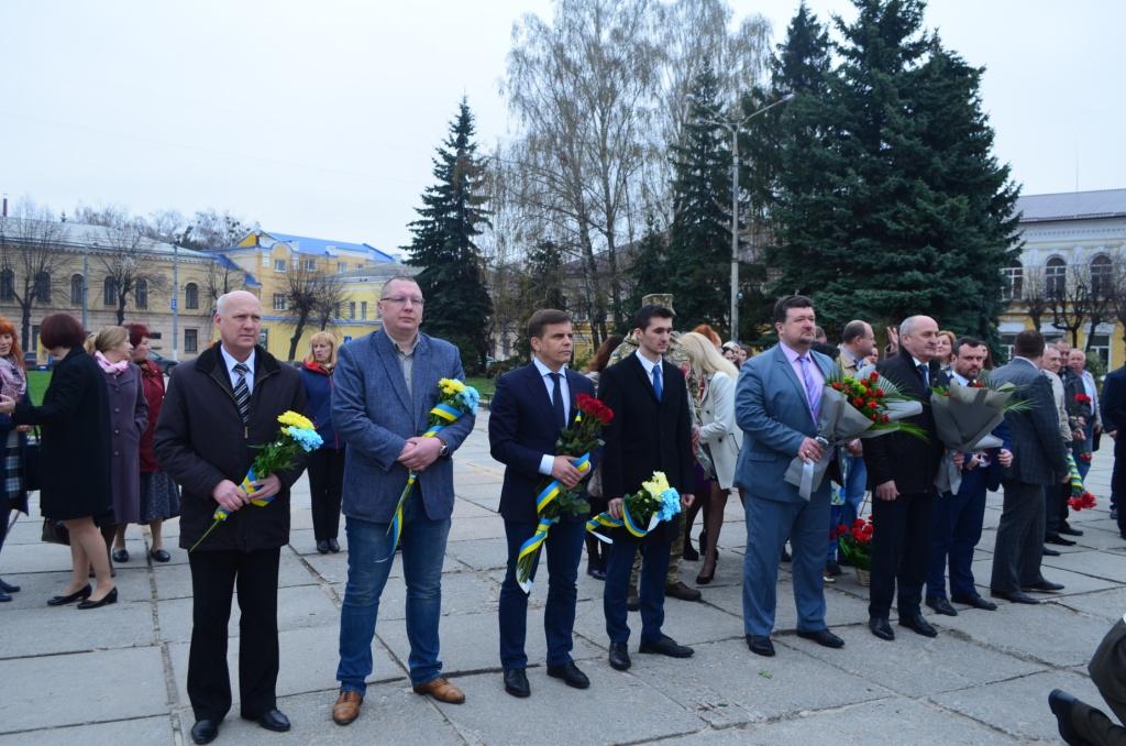 В Житомирі відбулися заходи з нагоди відзначення Всесвітнього дня авіації та космонавтики
