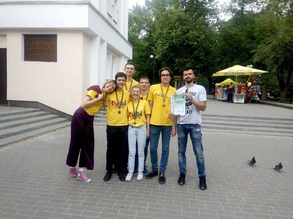 Житомиряни стали бронзовими призерами  Чемпіонату  Європи з інтелектуальних ігор «Що? Де? Коли?»