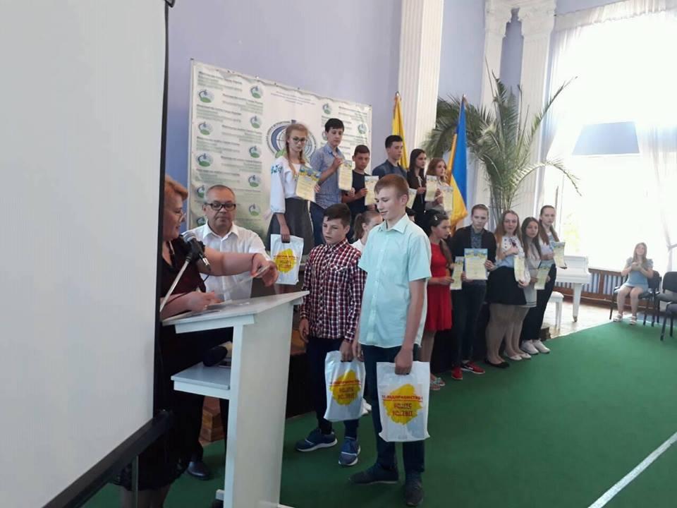 Юні житомирські дослідники перемогли на всеукраїнському конкурсі