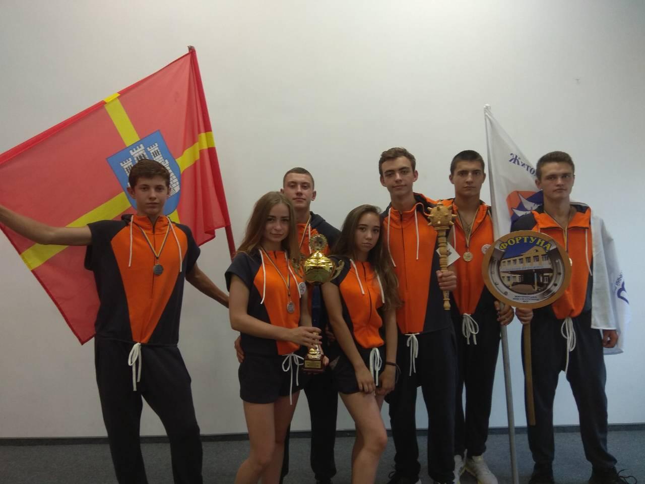 Юні рятувальники з Житомира успішно виступили на «Школі безпеки» у Львові
