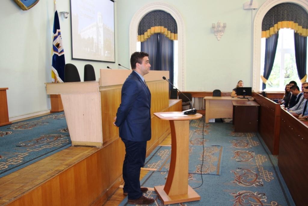Сергій Сухомлин: «Хочу подякувати вам за ваше бажання зробити цей світ кращим»