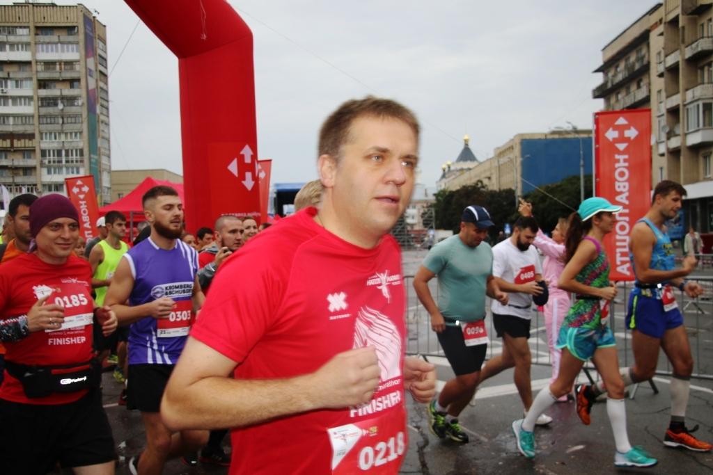 Полу марафон в Житомире