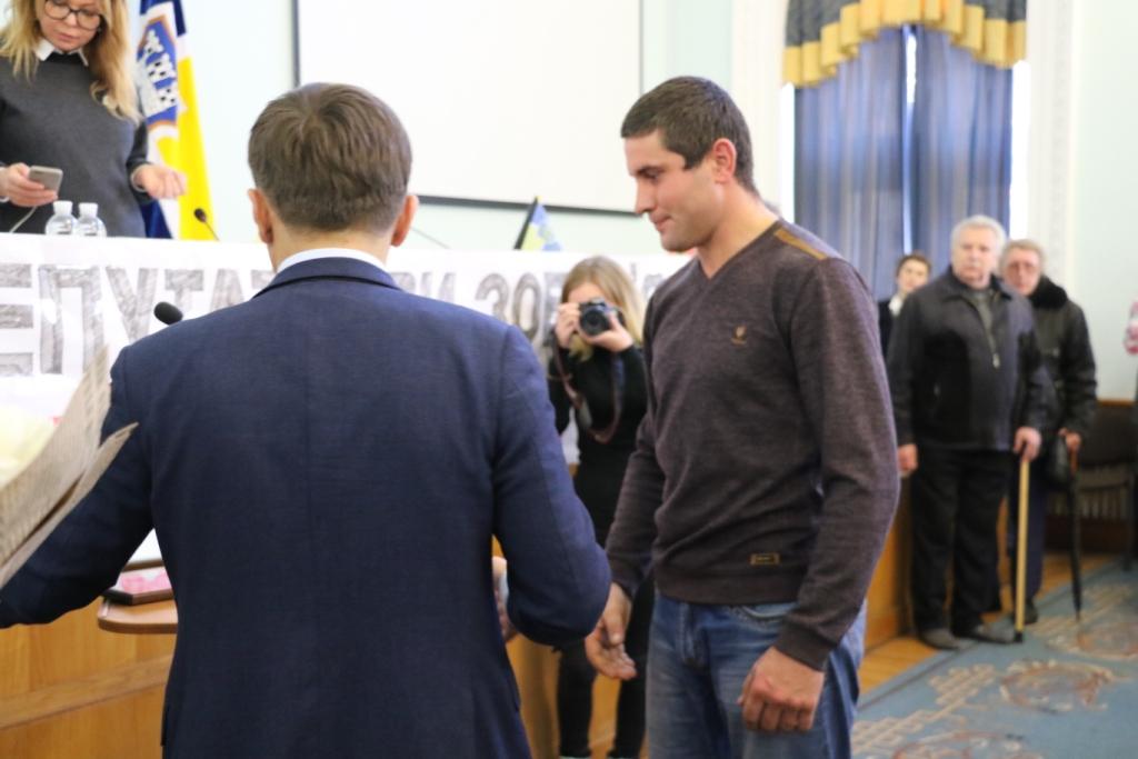 Міський голова подякував Президенту, Прем'єр-міністру та віце-прем'єр- міністру України за житло воїнам-афганцям