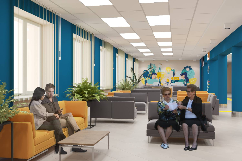 Дизайн проекту майбутнього «Прозорого офісу»