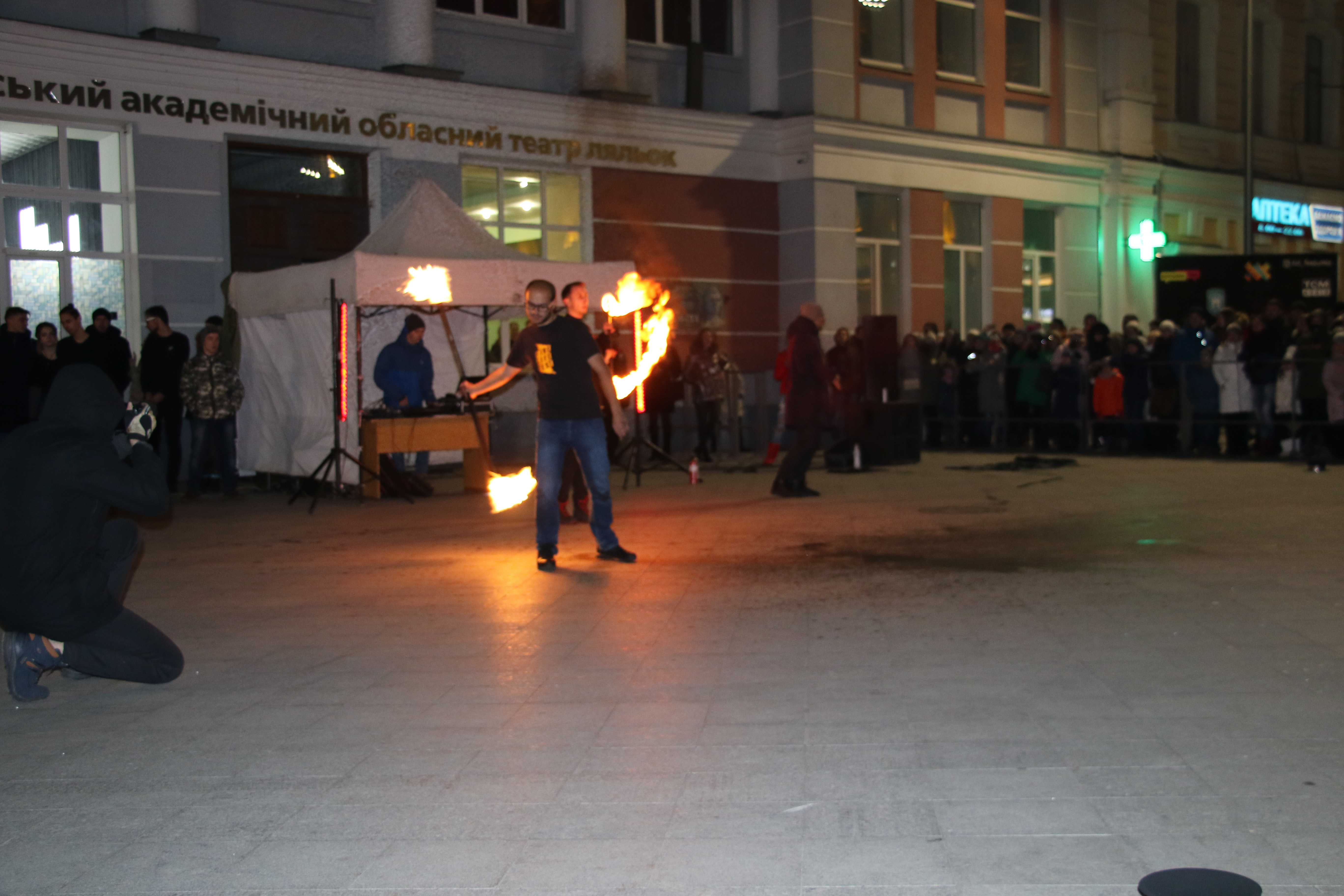 До Дня студента на Михайлівській відбувся FIRE BATTLE - ZHYTOMYR 2018