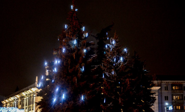 Новорічних та різдвяні свята  в Житомирі. Що цікавого приготували організатори житомирянам та гостям міста