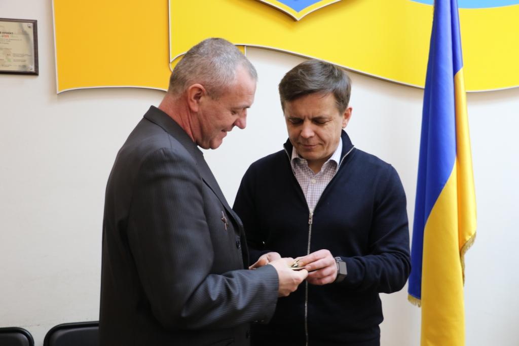 Міський голова зустрівся з учасниками бойових дій на території інших держав
