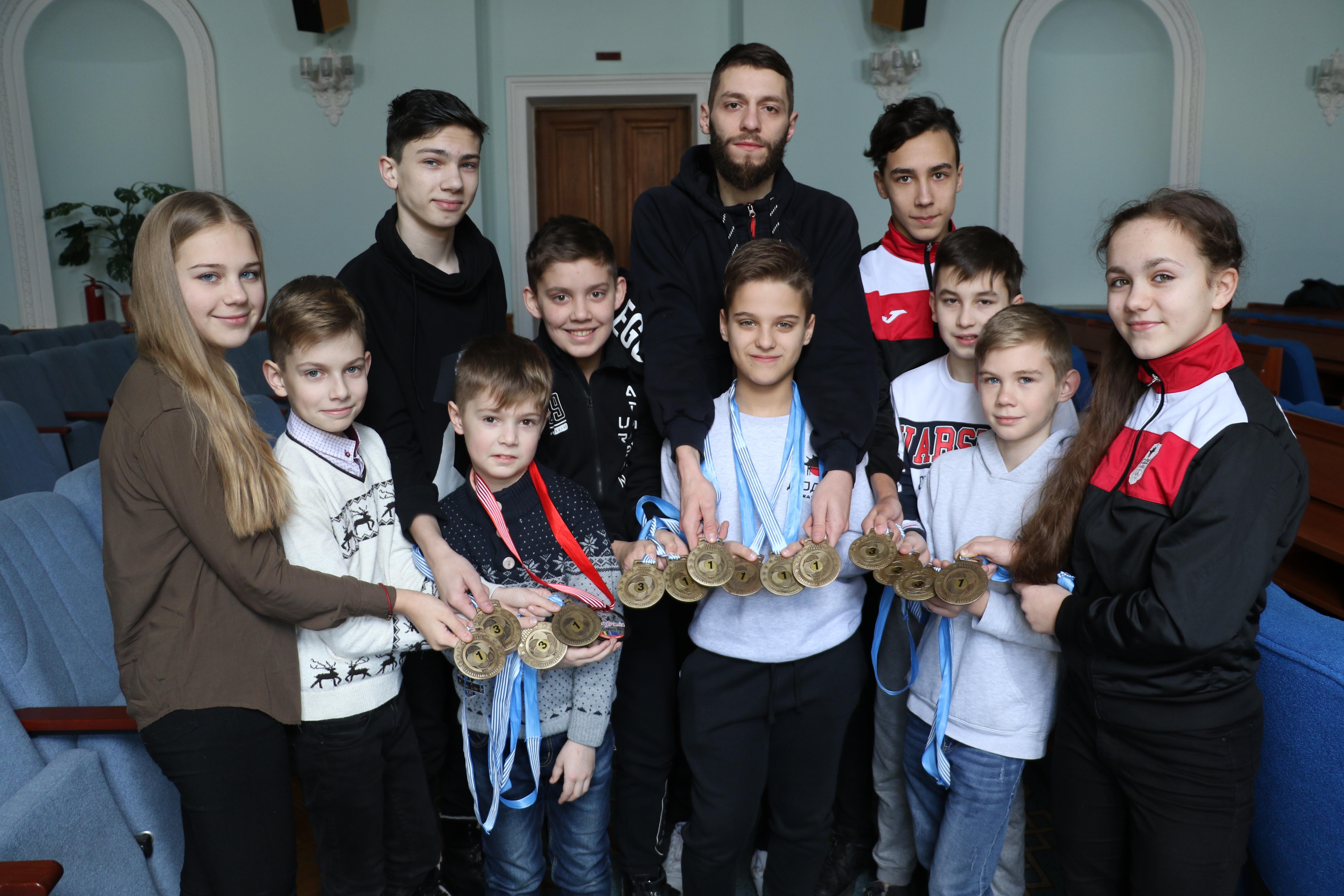 Результати міжнародного Турніру з карате «Transilvania Open»