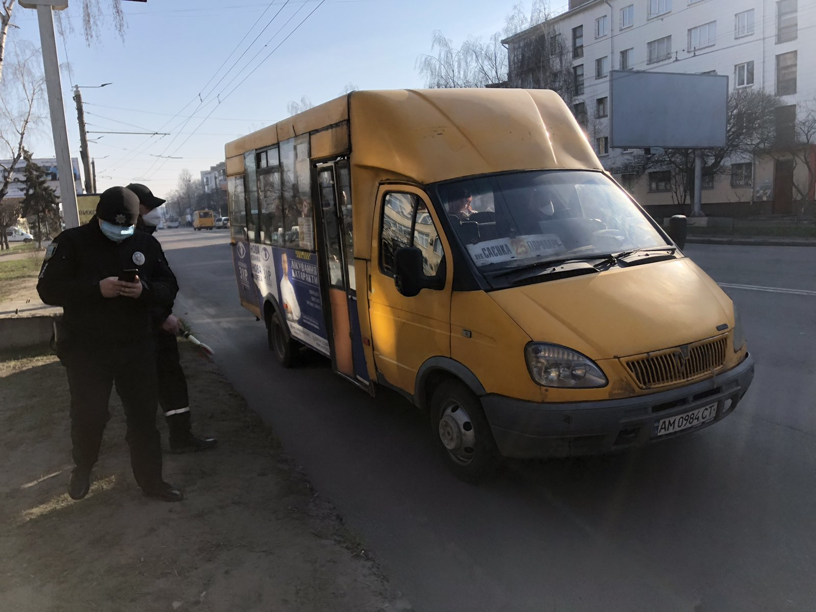 Кабмін заборонив роботу громадського транспорту в Житомир